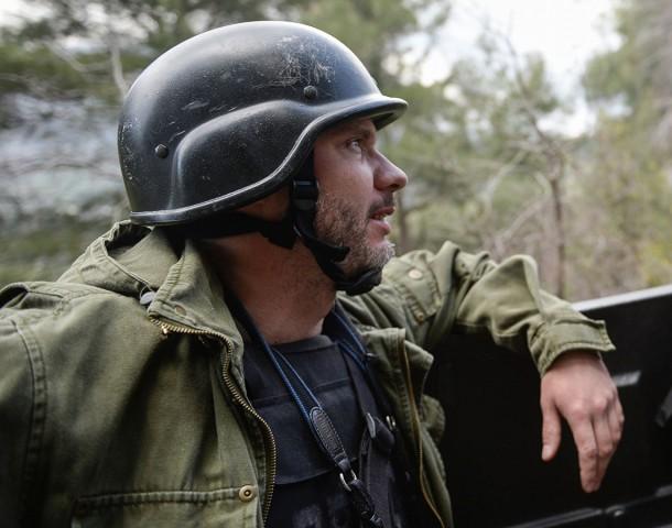 Мать Андрея Стенина впервые приехала на место его гибели в Донбассе
