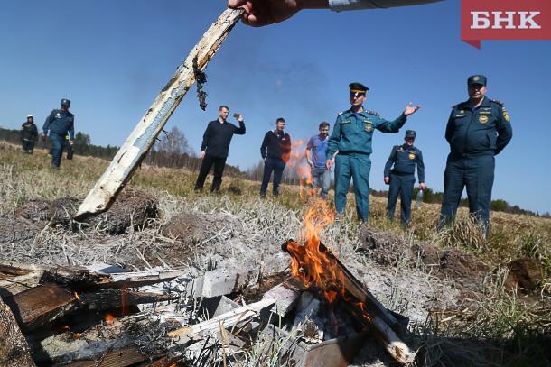 Пожарные рассказали об ответственности за сжигание отходов и пал сухой травы