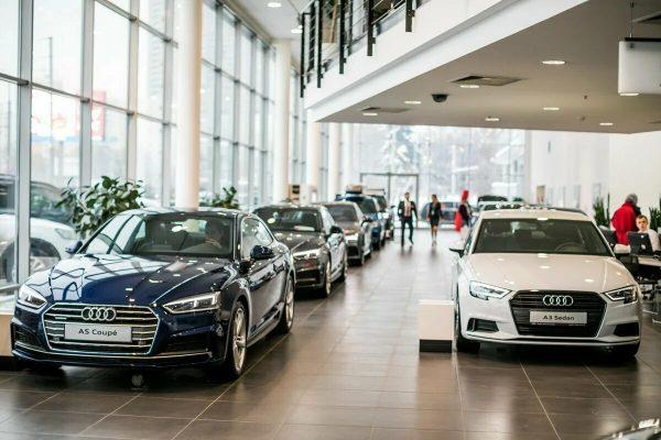 Официальный дилер Audi в Санкт-Петербурге